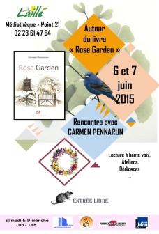 afiche rose garden
